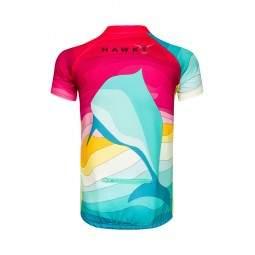 Koszulka rowerowa Hawky Delfin