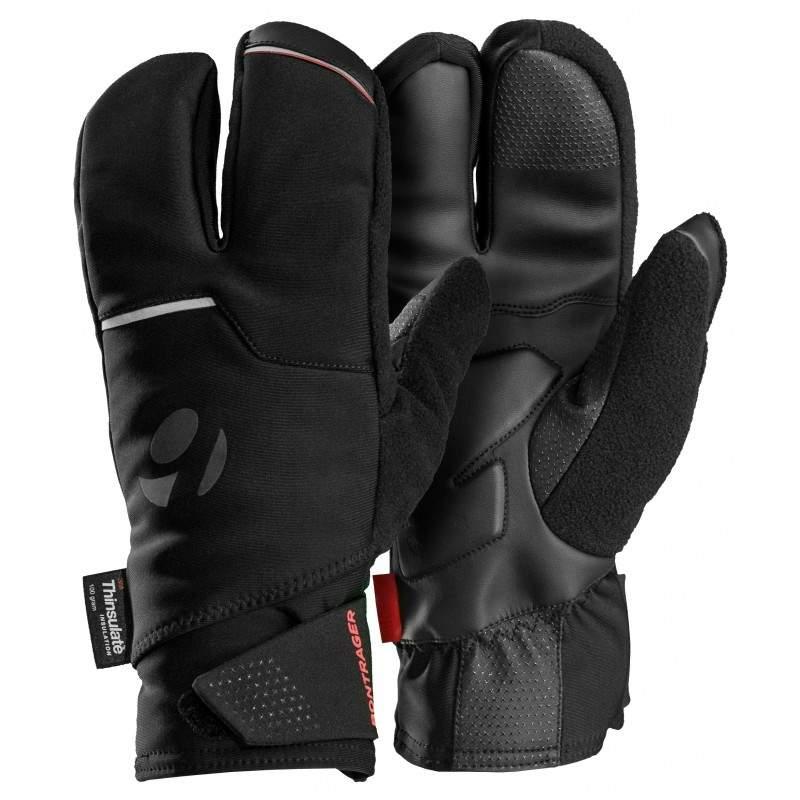 Rękawiczki softshell z 3 palcami Bontrager Velocis S2