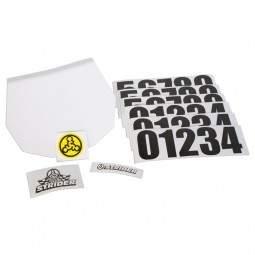 Płytka z numerem startowym Strider Number Plate Kit