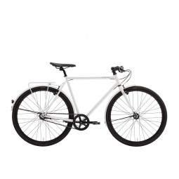 Rower miejski Creme Cycles Tempo Solo 3s z bagażnikiem