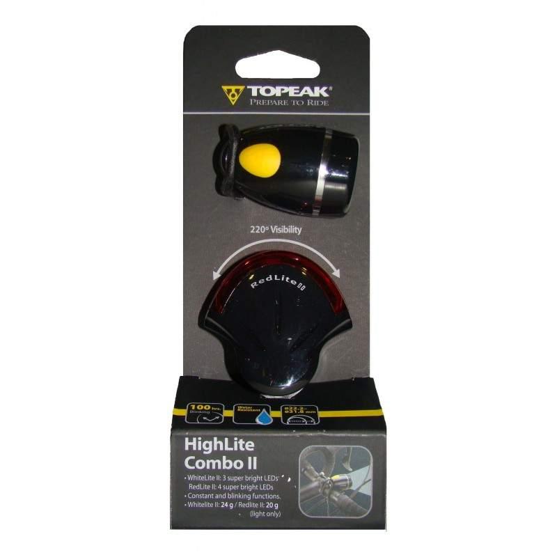 Zestaw oświetlenia Topeak Highlite Combo II