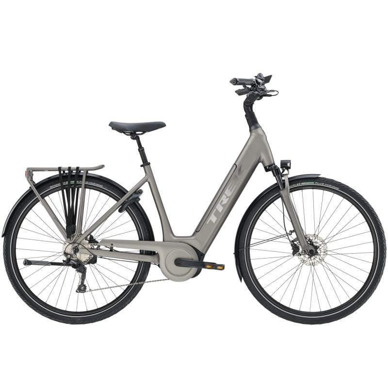 Rower miejski elektryczny Trek Verve+ 5 Lowstep 2020
