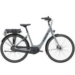 Rower miejski elektryczny Trek District+ 1 Lowstep 300 Wh 2020