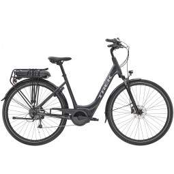Rower miejski elektryczny Trek Verve+ 1 Lowstep 300 Wh 2020