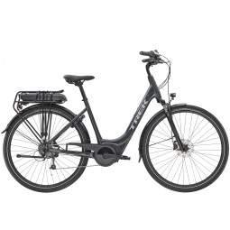 Rower miejski elektryczny Trek Verve+ 1 Lowstep 400 Wh 2020