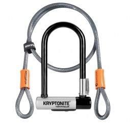 Zapięcie Kryptonite KRYPTOLOK Mini 7 8.2x17.8cm uchwyt+linka KRYPTOFLEX 10mm/120cm