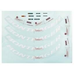 Naklejki Bontrager Wheelsystem Replacement Aeolus XXX 6 Decals 2020