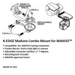 Uchwyt K-Edge do Wahoo Bolt Madone Combo Mount