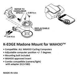 Uchwyt K-Edge do Wahoo Bolt Madone Mount