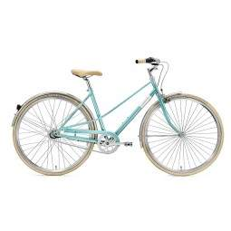 Rower miejski Creme CAFERACER LADY UNO TURQUOISE 3s