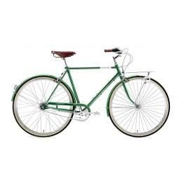 Rower miejski Creme CAFERACER MAN DOPPIO DARK GREEN 7s