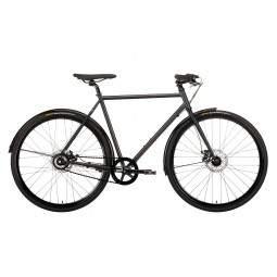 Rower miejski Creme TEMPO DOPPIO BLACK 8s