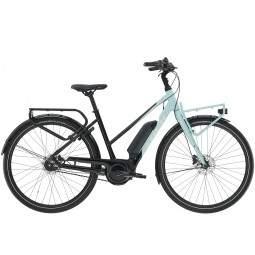 Rower miejski elektryczny damski Trek District+ 2 Stagger 500WH 2021