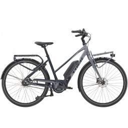 Rower miejski elektryczny damski Trek District+ 2 Stagger 400WH 2021