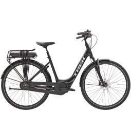 Rower miejski elektryczny damski Trek District+ 4 Lowstep 300WH 2021