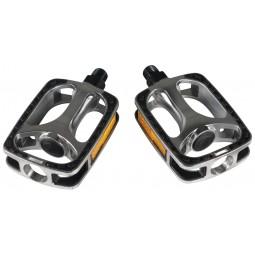 Pedal VP608 9/16in. Silver/Black