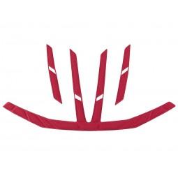 Zestaw wkładek Bontrager Starvos MIPS Pad Red Set