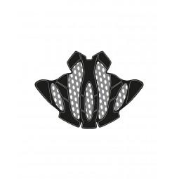 Wkładki Rudy Project Sterling  Internal Padding Kit With Bug Stop Black/White 2 Pcs
